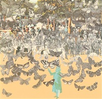 vichy - the butterfly man by peter blake