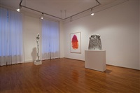 installation view: samosata, o.t., nine lifes by alessandro twombly
