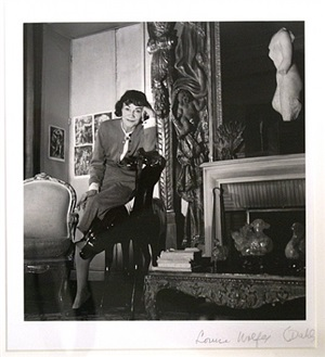 coco channel in her apartment by louise dahl-wolfe