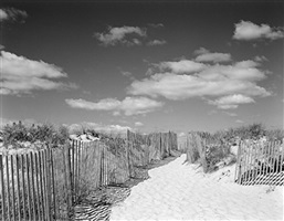 beach fence #6 by daniel jones