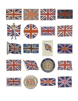 found art - 20 union jacks by peter blake
