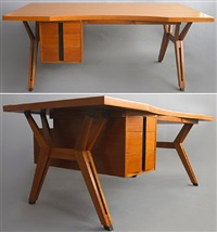 ico parisi desk for m.i.m. by ico parisi