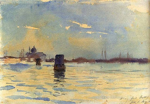 venice, view from the bacino by john singer sargent