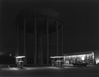 petit's mobile station, cherry hill, new jersey by george tice
