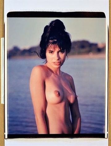 pin-up polaroid 18 by michael dweck