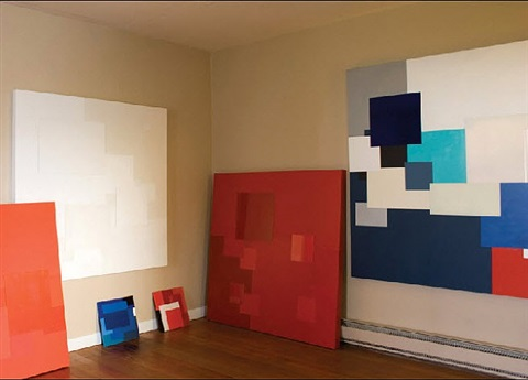 marco casentini: recent paintings