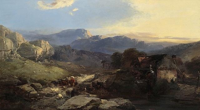 glynn ceiriog, wales by henry bright