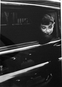 audrey hepburn in sabrina by dennis stock