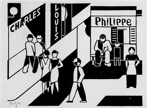 charles louis philippe by gerd arntz