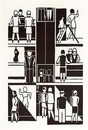 warenhaus by gerd arntz