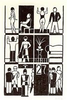 bordell by gerd arntz