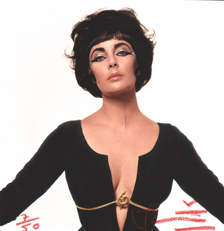 famous cleopatra very rare elizabeth taylor by bert stern
