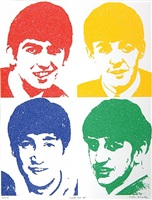 beatles – 'love me do' by peter blake