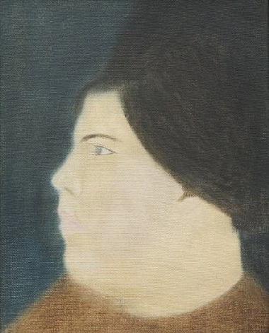 miss anna maria michalitsianou no 1 by craigie aitchison