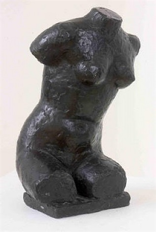 seated torso by frank dobson