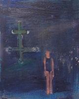 girl with ship mast by katherine bradford