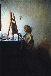 the young painter by dovrat amsily-barak