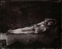 plate 18 (reclining nude) by e.j. bellocq
