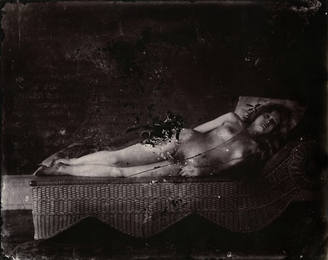 plate 18 reclining nude by ej bellocq