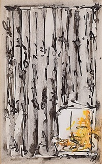 my window in peggy guggenheim palazzo by brion gysin