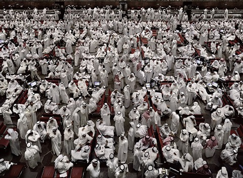 kuwait stock exchange ii by andreas gursky