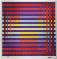 untitled iii by yaacov agam