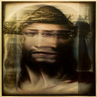 ecce homo (after correggio) by thomas garner