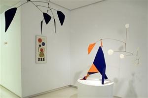 installation view by alexander calder