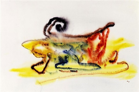 ohne titel by henri michaux