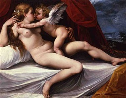 venus and cupid by giuseppe cesari