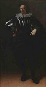 portrait of an unidentified man by artemisia gentileschi