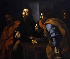 christ preaching to the disciples by giovanni battista caracciolo