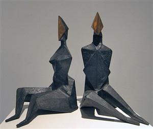 maquette i diamond by lynn chadwick