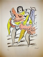 the dancer by fernand léger