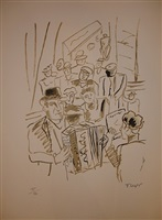 the bar by fernand léger