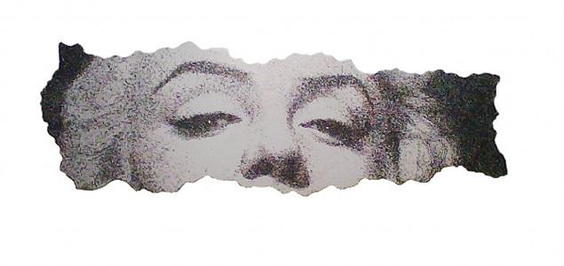 shredded media monroe by yang qian