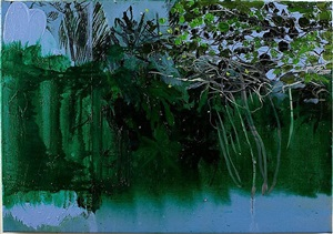 maracas series—pluck by hurvin anderson