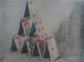 from the series metaphor/still life, house of cards by e.e. smith