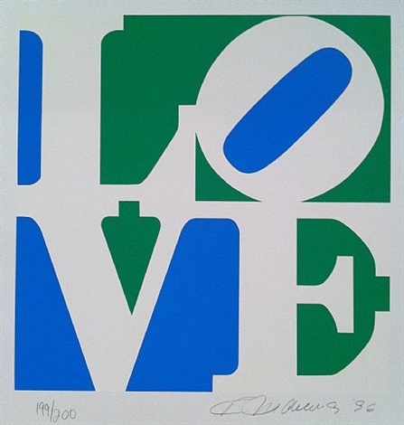 book of love, love by robert indiana