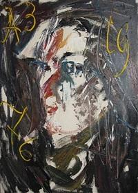 o.t. (portrait des nachbarn vetchtomov) by anatoly zverev