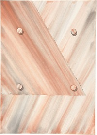 untitled (triangle) by tomma abts