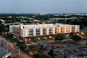 parallel park lee county justice center parking garage, fort myers, florida