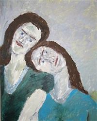 o.t. (doppelportrait) by vladimir yakovlev