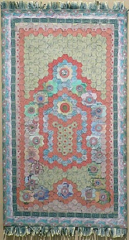 prayer rug i by barton lidice benes