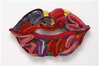 graffiti lips by david gerstein