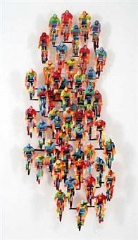tour de france, vertical by david gerstein
