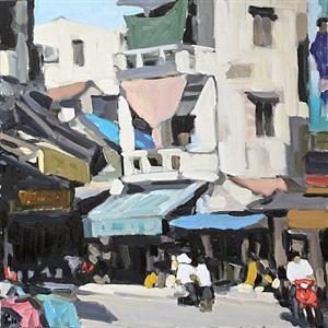ha trung street by pham luan