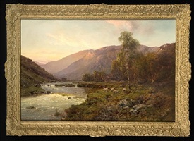 the banks of the dee by alfred de breanski sr