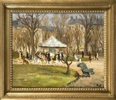 carousel du jardin des champs-élysées by marcel dyf