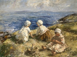summer on the cliffs by robert gemmell hutchison